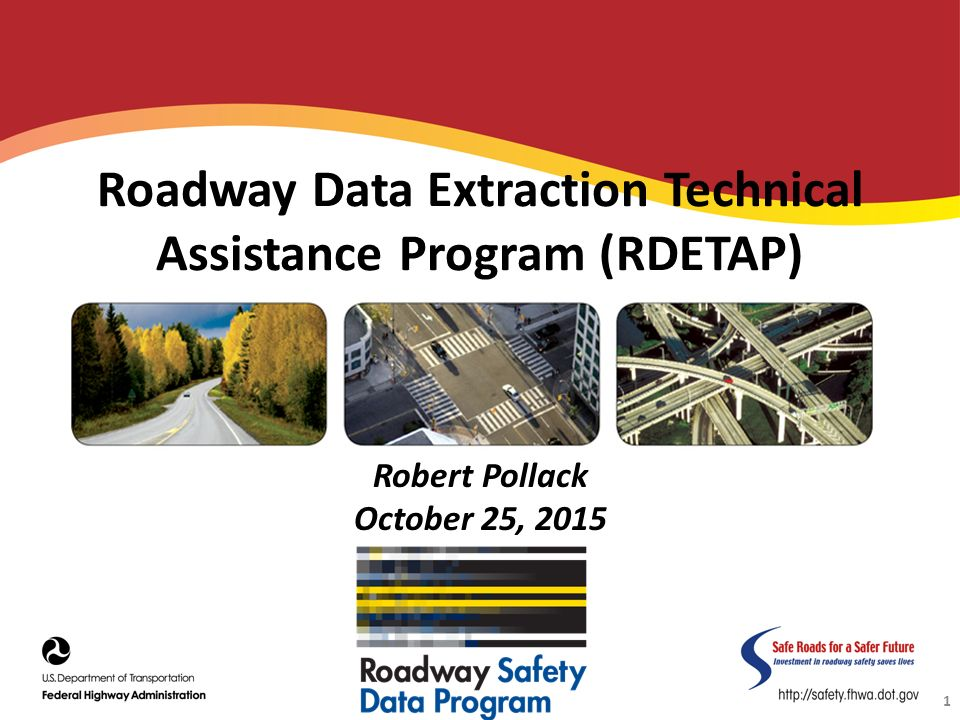 Roadway Data Extraction Technical Assistance Program (RDETAP