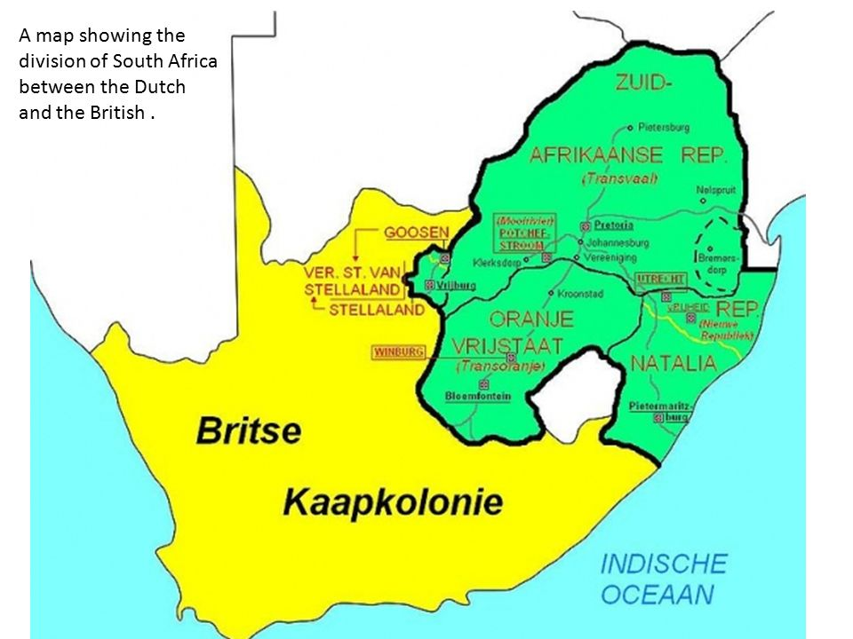 British The British people first arrived in on the Table Bay 17