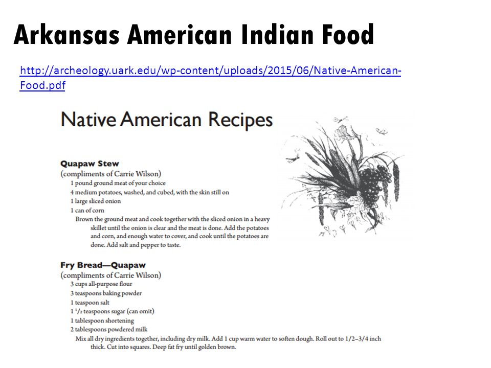 Native americans of arkansas what i know what i want to know ppt 30 httparcheologyrkwp contentuploads201506native american foodpdf forumfinder Images