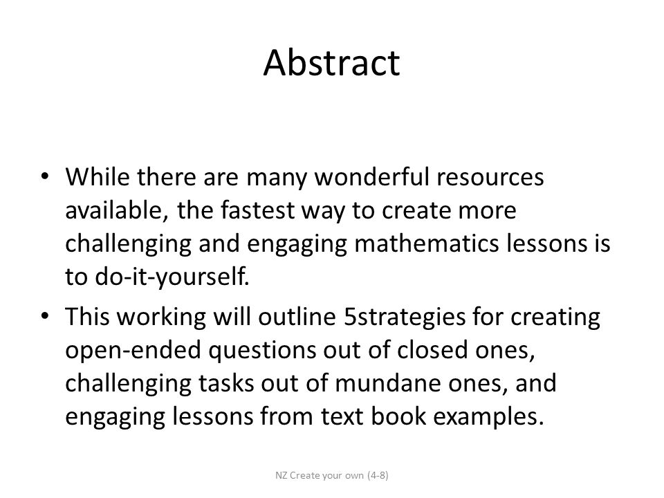Creating lessons based on challenging mathematical tasks for 2 abstract solutioingenieria Image collections