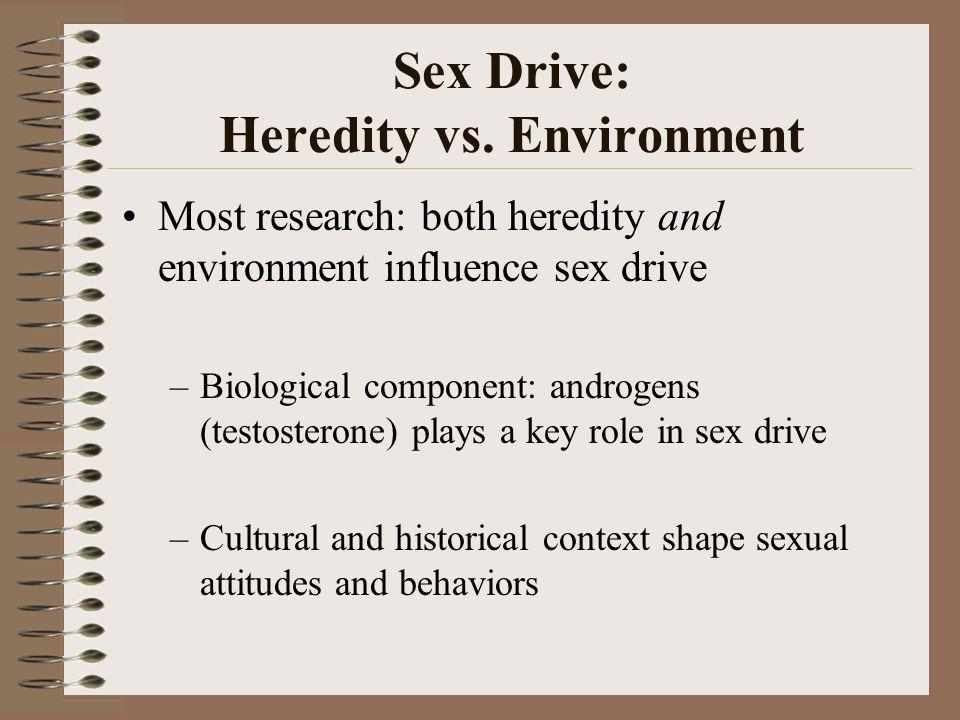 Sex as a biological drive