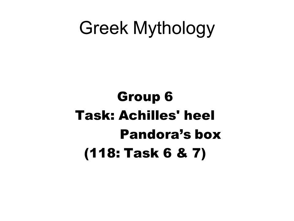 Greek Mythology Group 1 Task Explain The Relationships The Golden