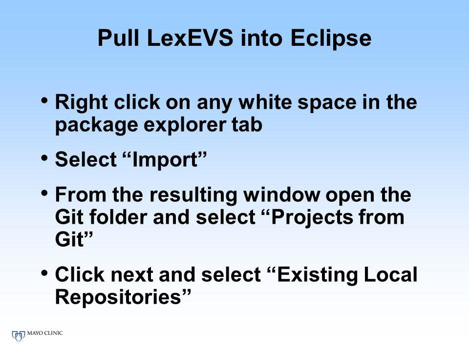Loader Tutorial Set Up  Requirements Java 7 Eclipse IvyIDE