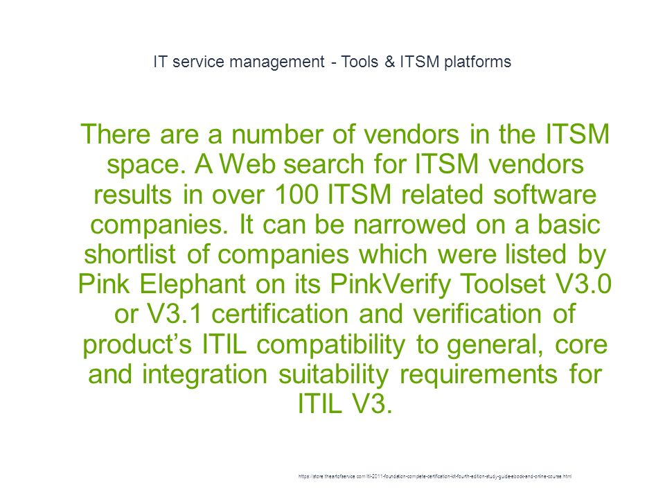 Itsm Ppt Download
