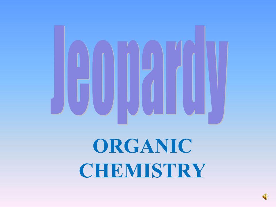 ORGANIC CHEMISTRY Misc  Alkanes/Alkenes/ Alkynes Naming Hydrocarbons