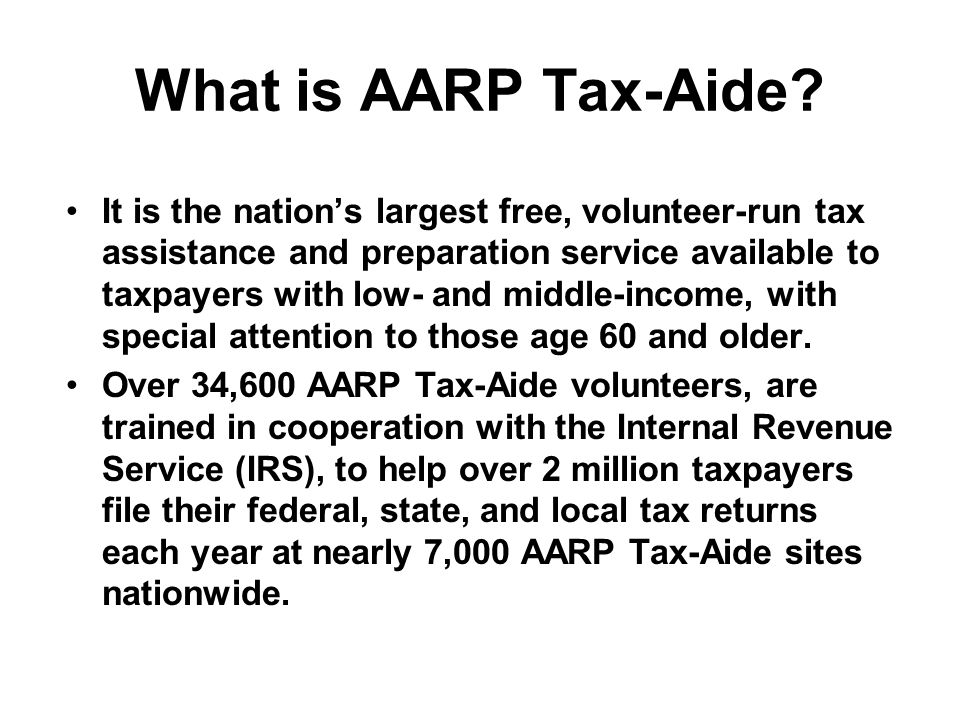 Aarp what is it
