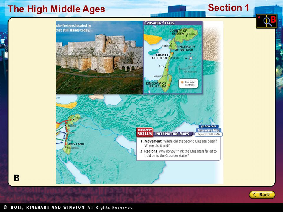 The High Middle Ages Section 1