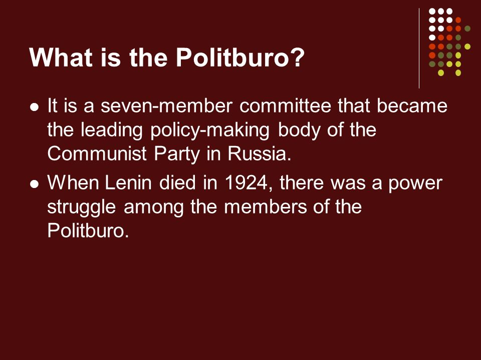 Communism and joseph stalin what were stalins changes to the 8 what toneelgroepblik Images