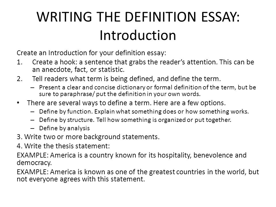 writing essays introduction Parts of an essay — traditionally, it has been taught that a formal essay consists of three parts: the introductory paragraph or introduction, the body paragraphs, and the concluding paragraph an essay does not need to be this simple, but it is a good starting point the introductory paragraph.