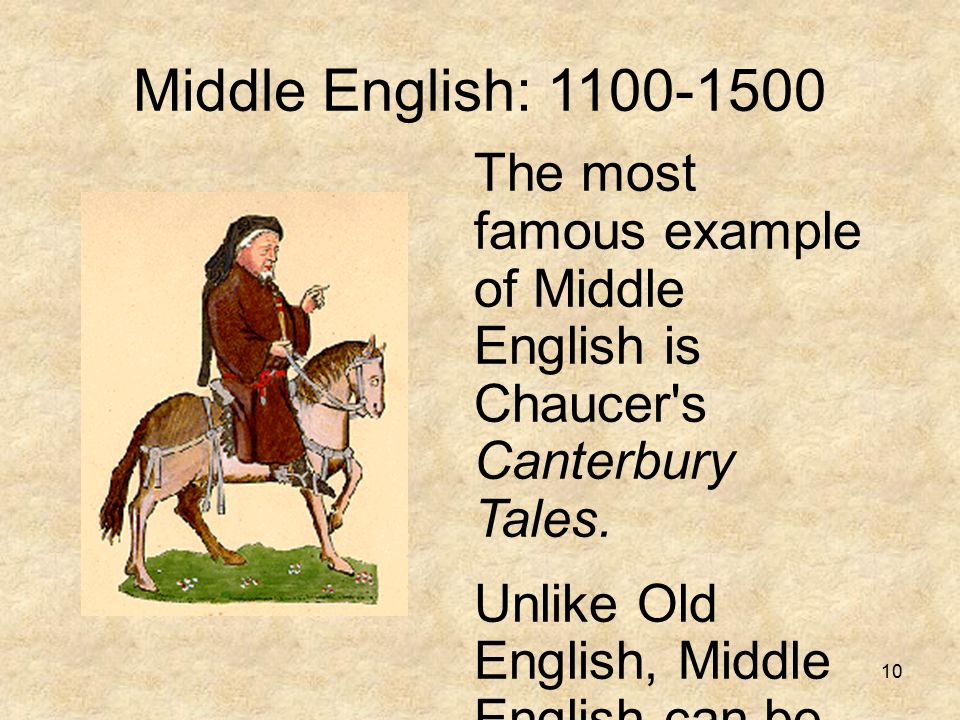 examples of modern day canterbury tales