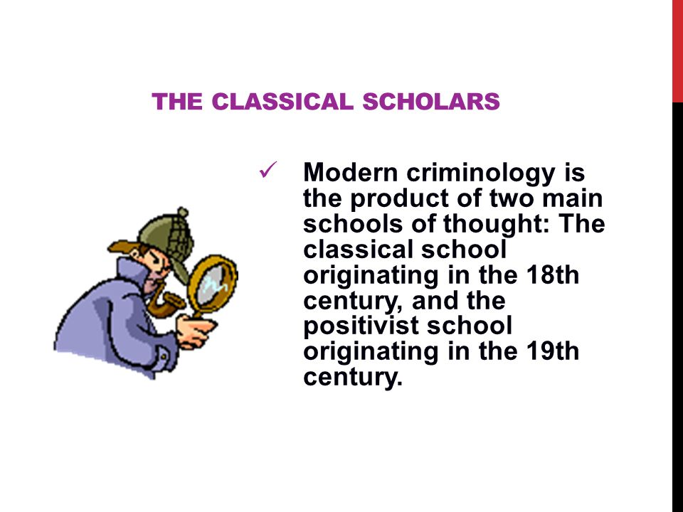 what is the classical school of criminology