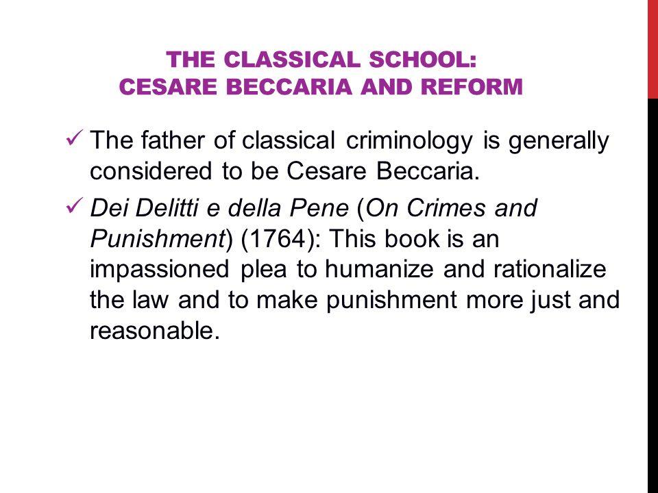 positivist school of criminology punishment