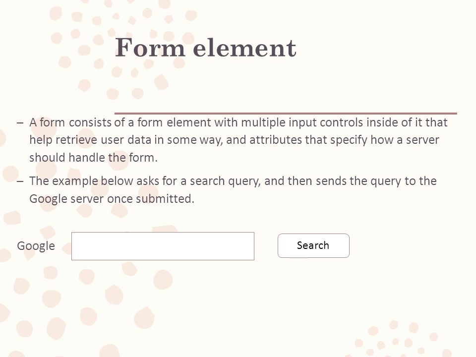 HTML (Advanced) -forms, iframe, audio, video  Outline – Forms