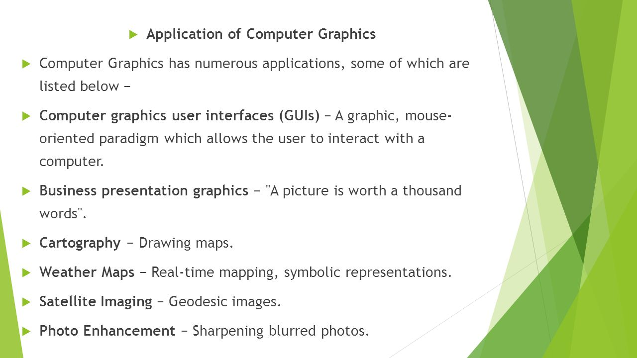 Computer Graphics Mansoor Ahmed Bughio  Computer Graphics