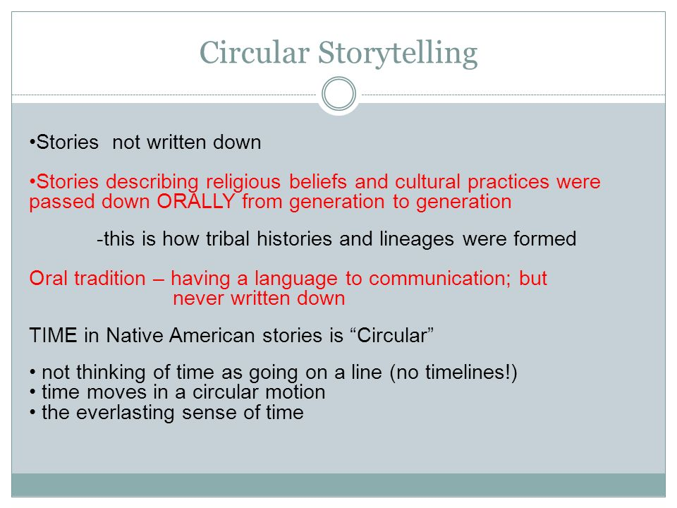 storytelling in native american culture