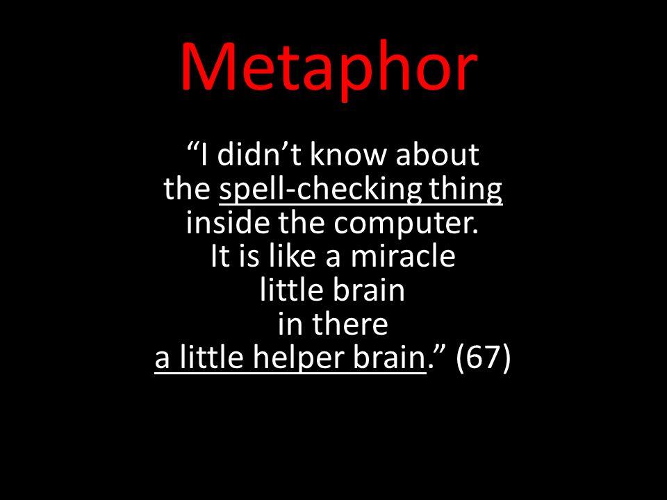spell metaphor