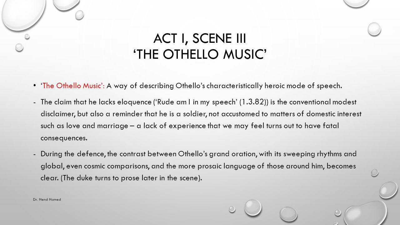 othello music