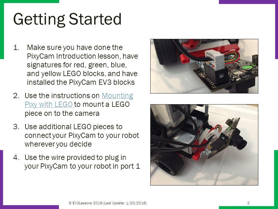 Bonus EV3 Programming Lessons By Droids Robotics PixyCam for