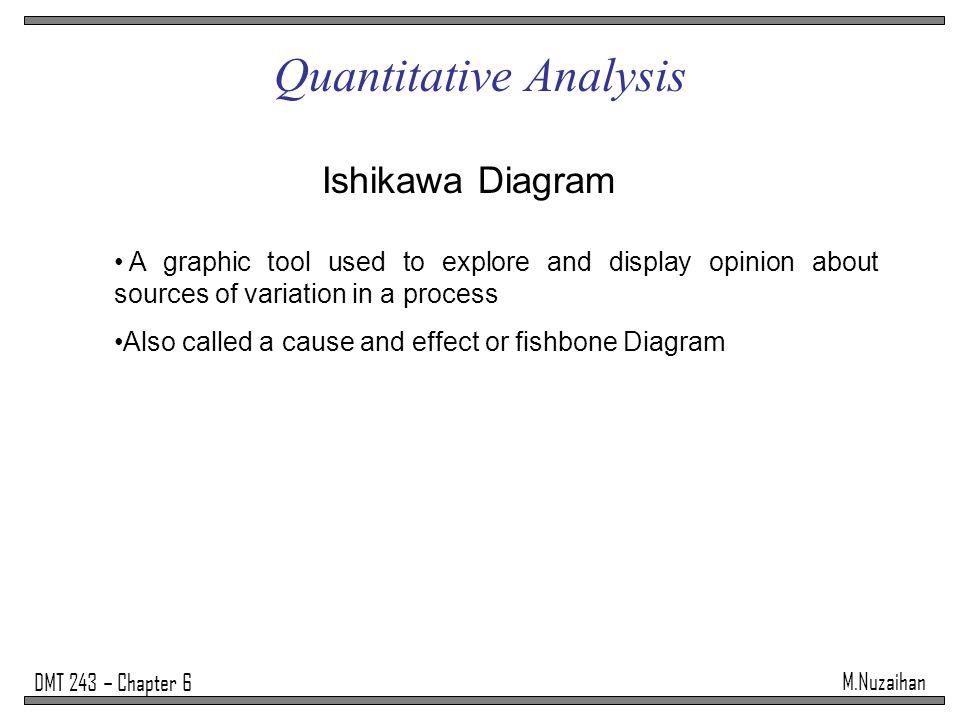 Mzaihan dmt 243 chapter 6 quantitative analysis the process of 14 mzaihan dmt 243 chapter 6 quantitative analysis ishikawa diagram ccuart Image collections
