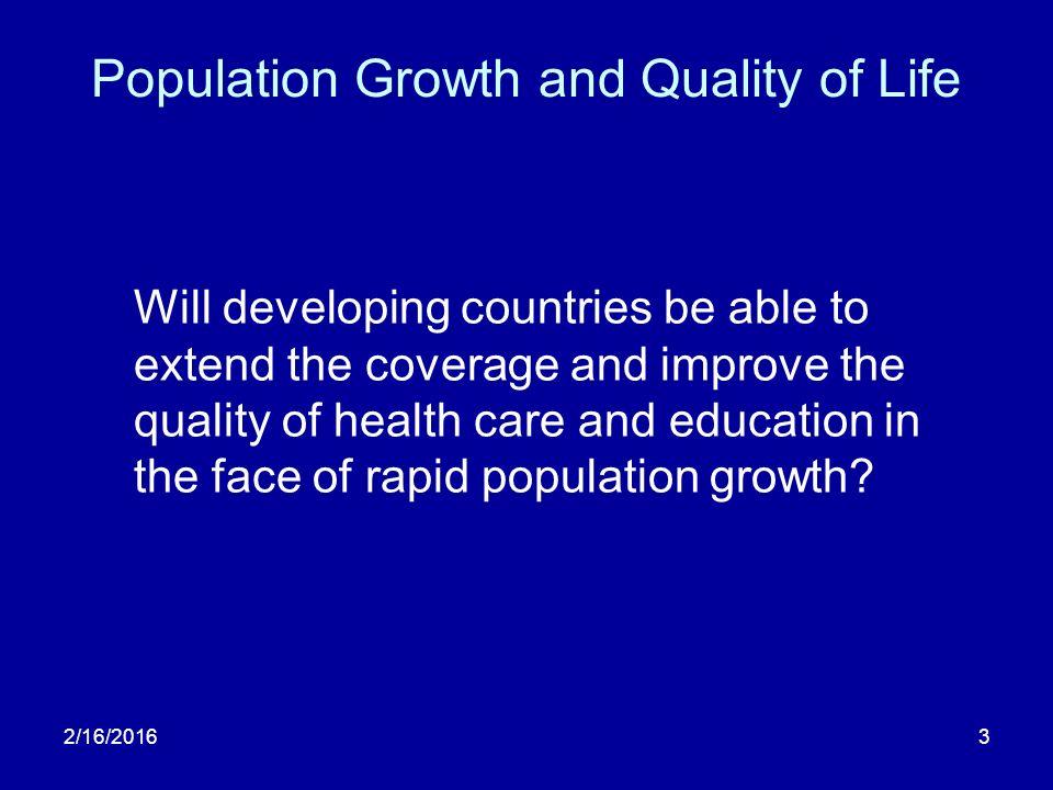 consequences of economic development