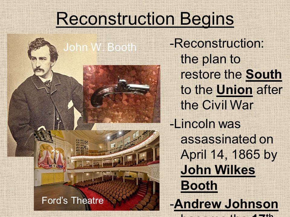 reconstruction Rebuilding the nation after the civil war language: en-us.