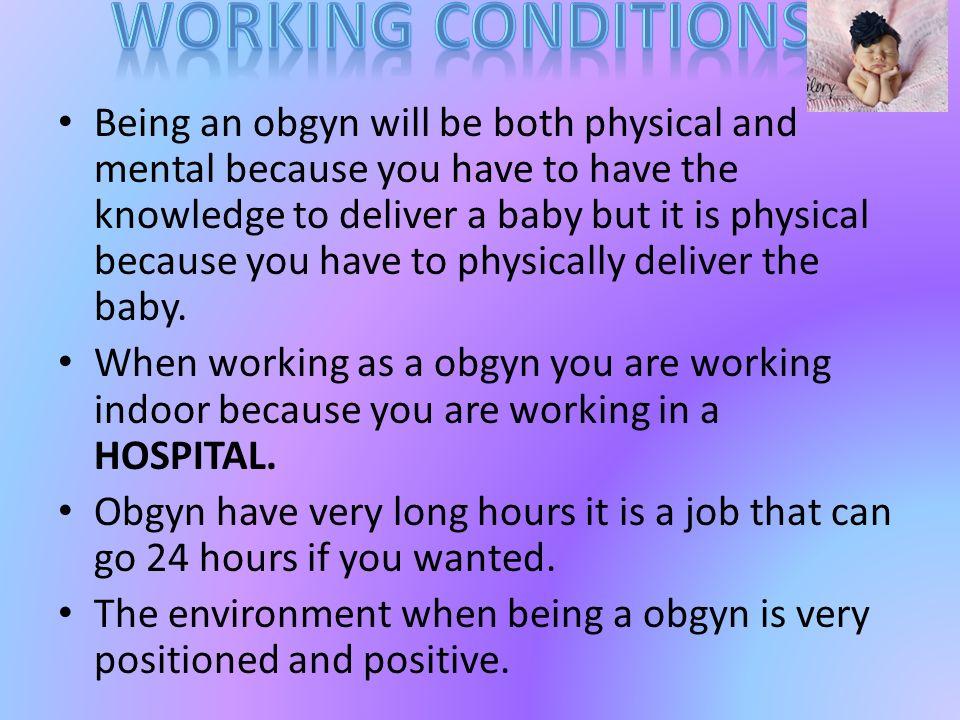 Ojanae Winburn HR-5 Career Tech  An OBGYN or Obstetrician