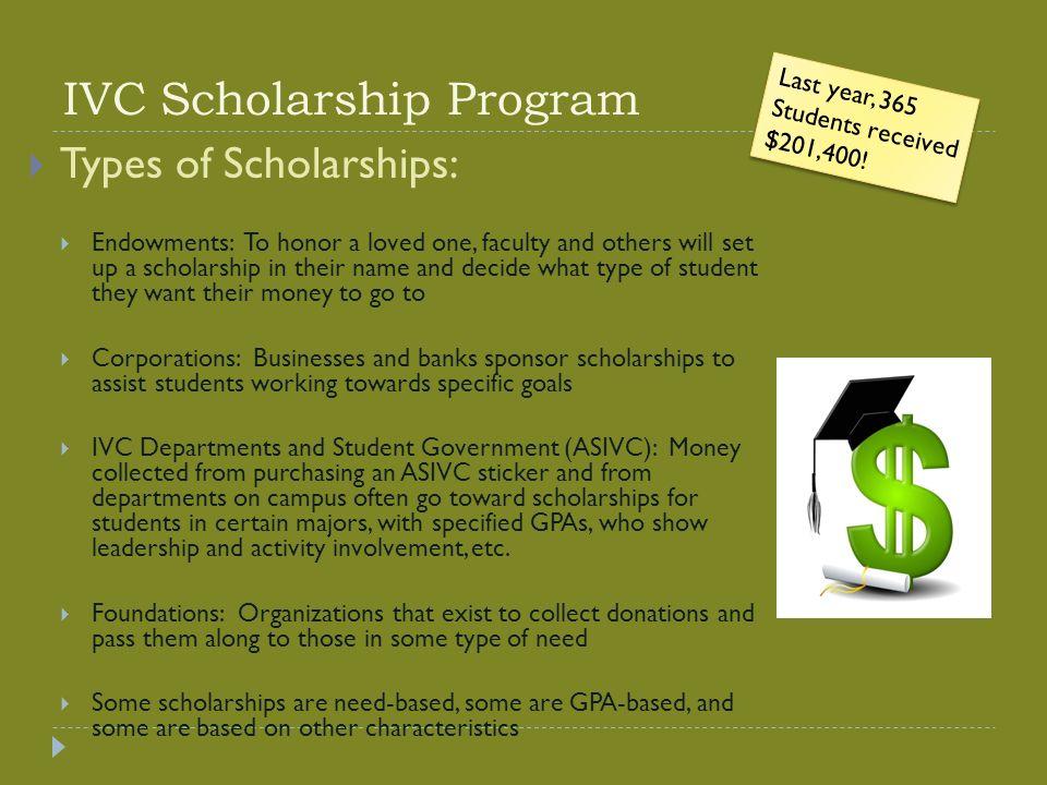 IVC Scholarship Essay workshop Presented by Transfer Center Staff ...