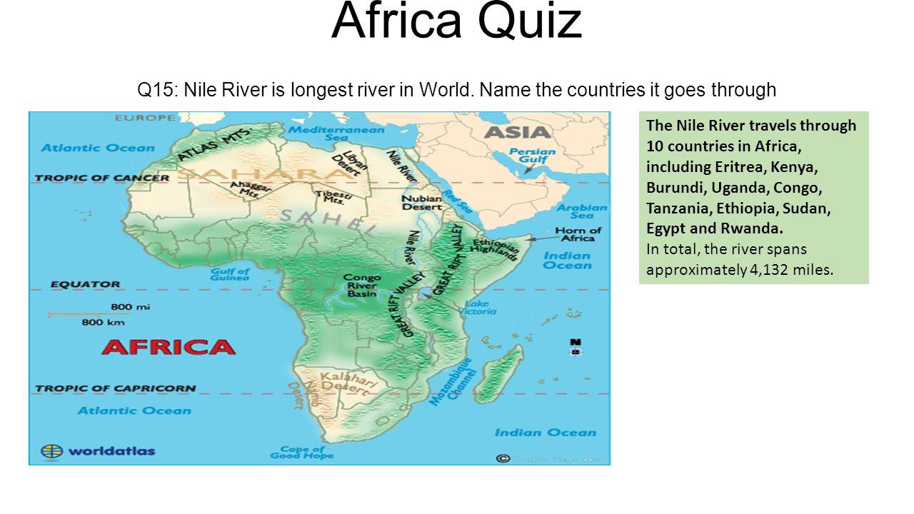 Sub Saharan Africa Map Quiz map of florid