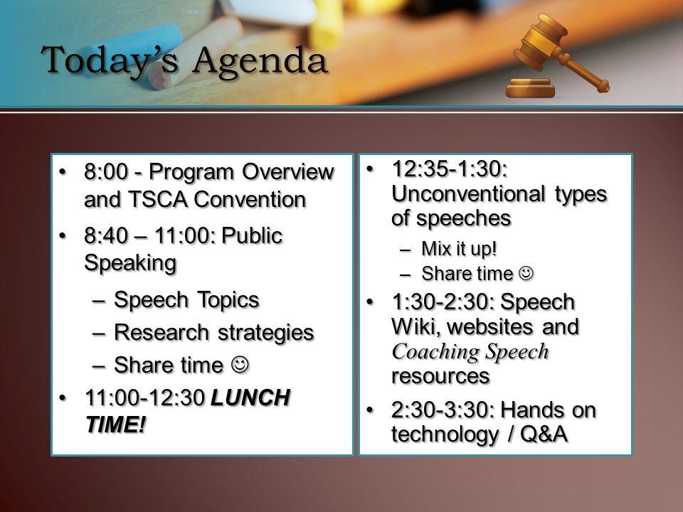 speech topics for teachers