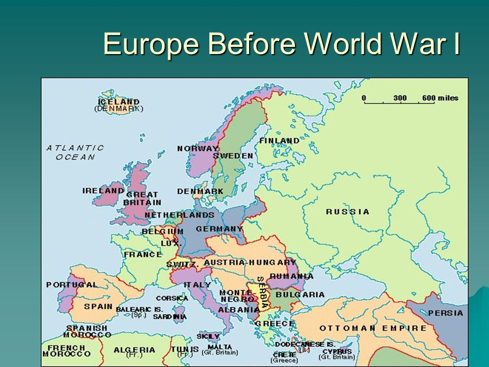 The Causes of World War I Europe Before World War I. - ppt ...