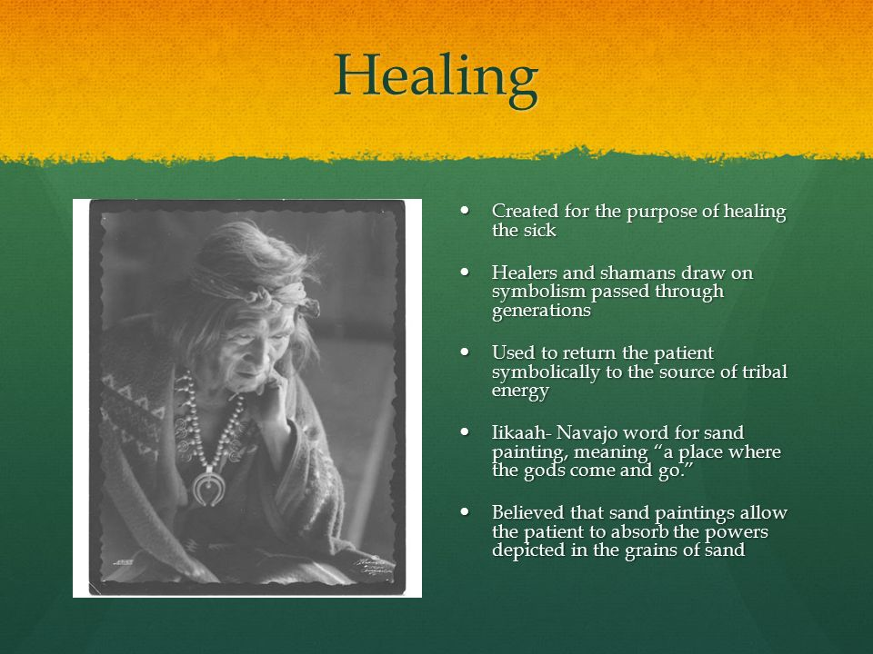 Navajo Sand Painting The Art Of Healing Healing Created For The