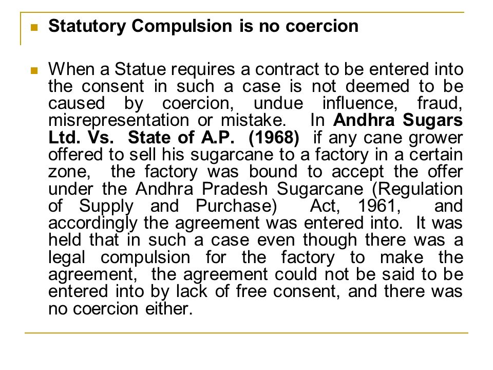 Free Consent  One of the essentials of a valid contract mentioned in