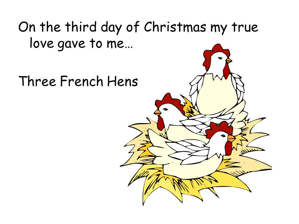 on the 10th day of christmas my true love gave to me lyrics