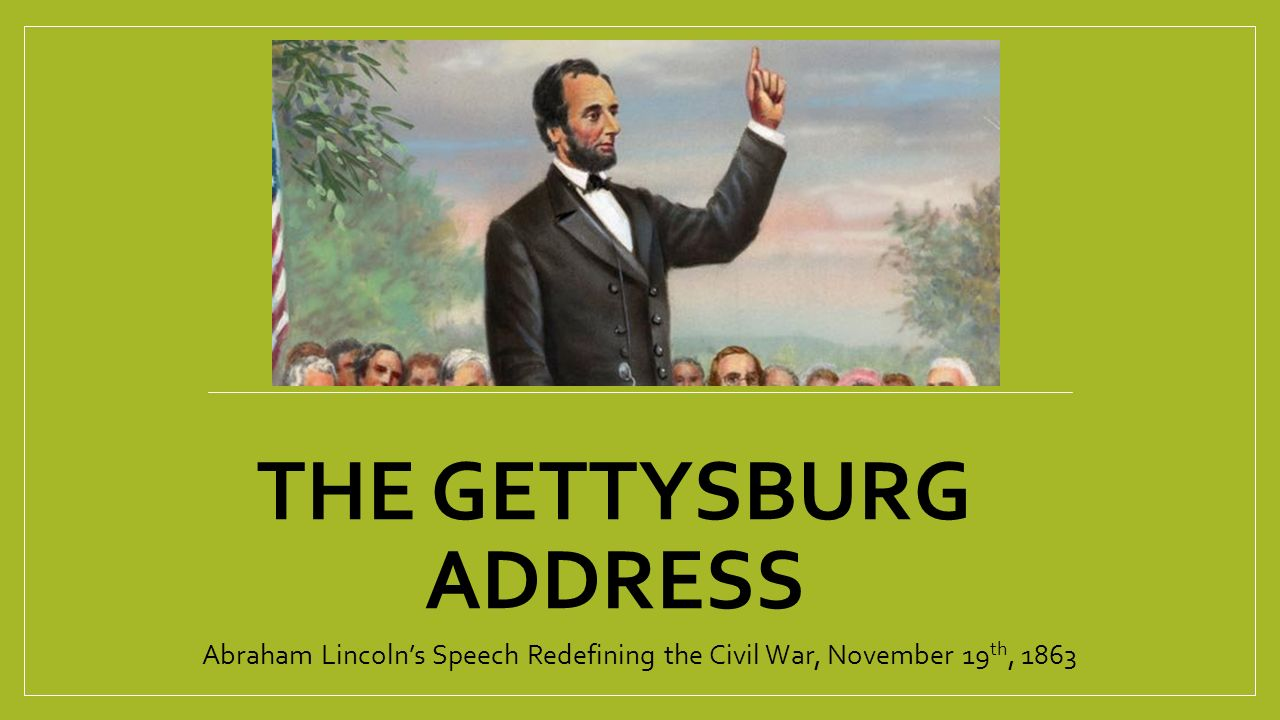 an analysis of the gettysburg address of abraham lincoln Abraham lincoln's gettysburg address is one of the most quoted speeches in american history the text is brief, three paragraphs amounting to less than it's unclear how much time lincoln spent writing the speech, but analysis by scholars over the years indicates that lincoln used extreme care.