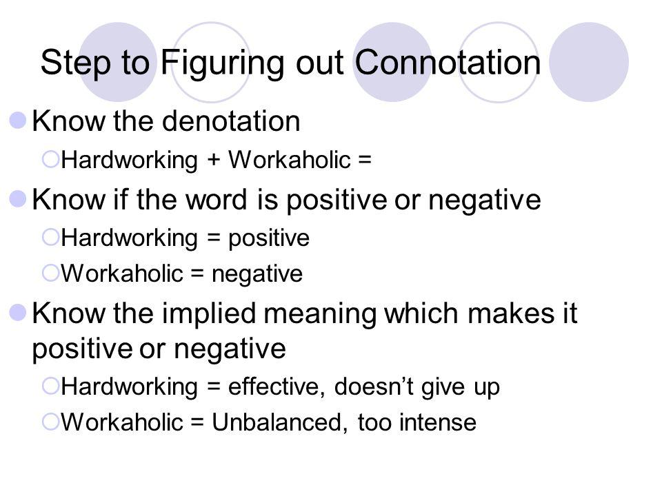 Denotation And Connotation Worksheets - Checks Worksheet