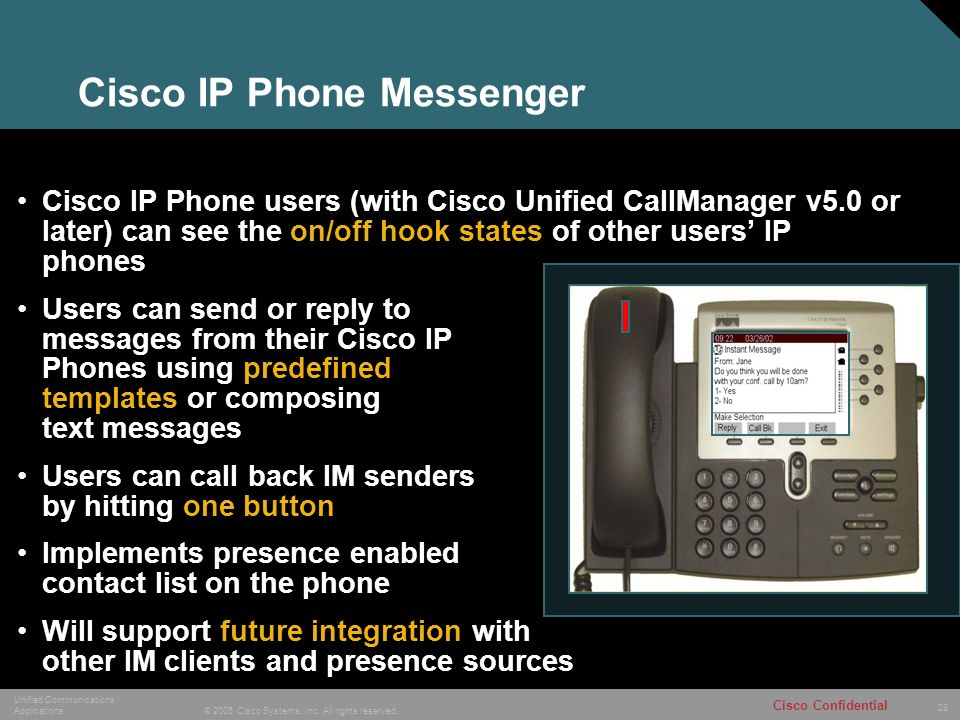 1 © 2005 Cisco Systems, Inc  All rights reserved  Cisco