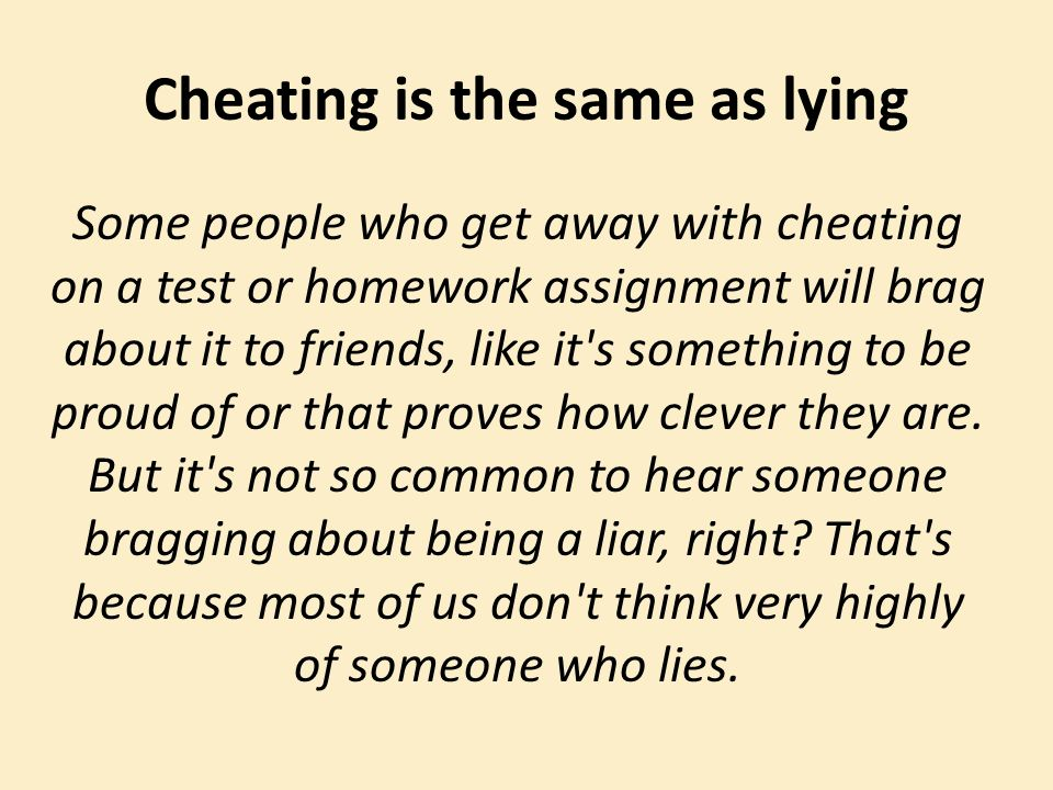 To on and being about lied cheated Being Cheated