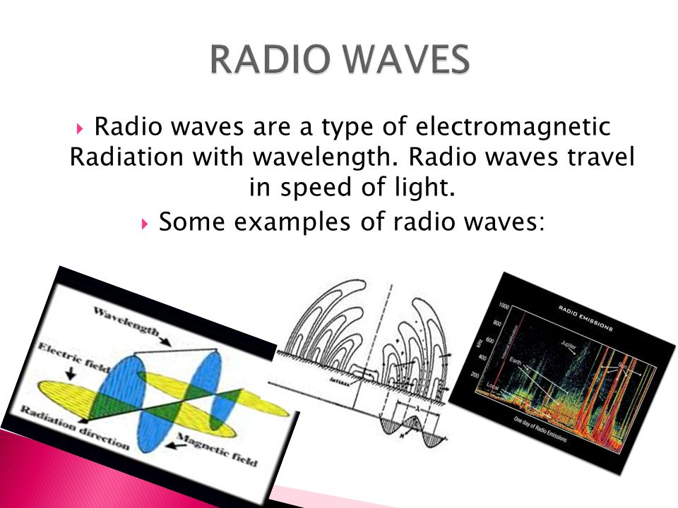 There Are Seven Different Types Of Electromagnetic Waves By