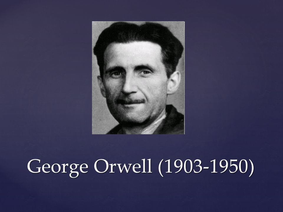 analysis of george orwells assorted short Political purpose, george orwell claims, is inherently present in all works of literature orwell states this as one of the four great motivations for all writers to have, and even his own pieces explicitly contain his own political opinions.