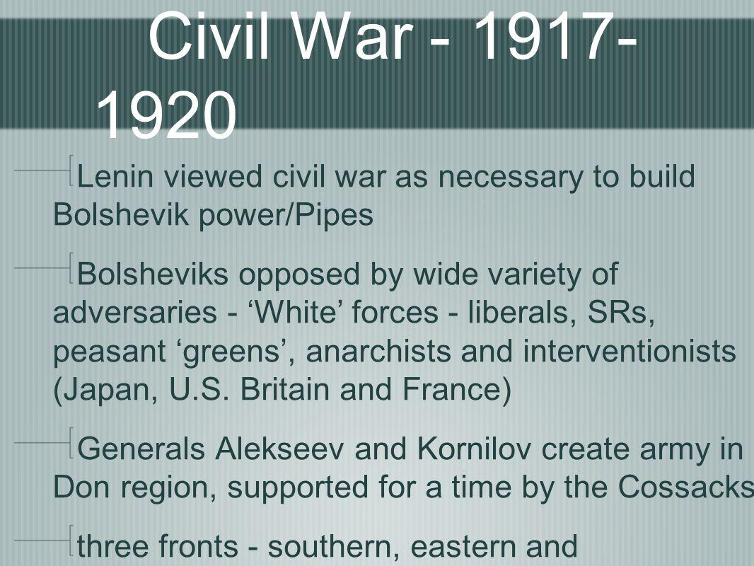 was the civil war necessary