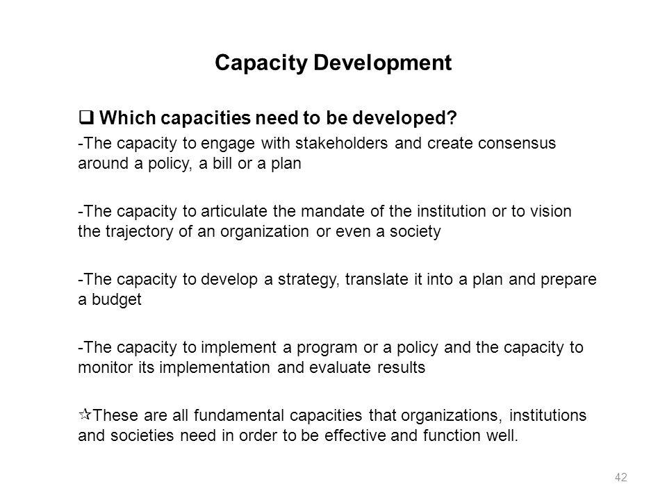 1 Economic Development Ed Development Assistance And Capacity
