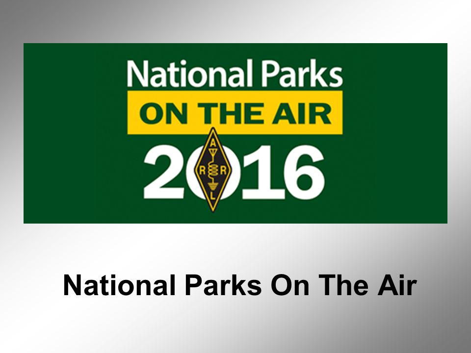 National Parks On The Air  The ARRL National Parks on the