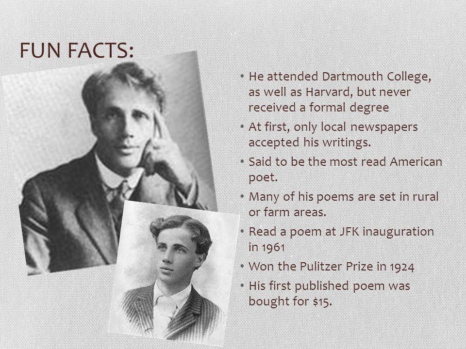 robert frost facts