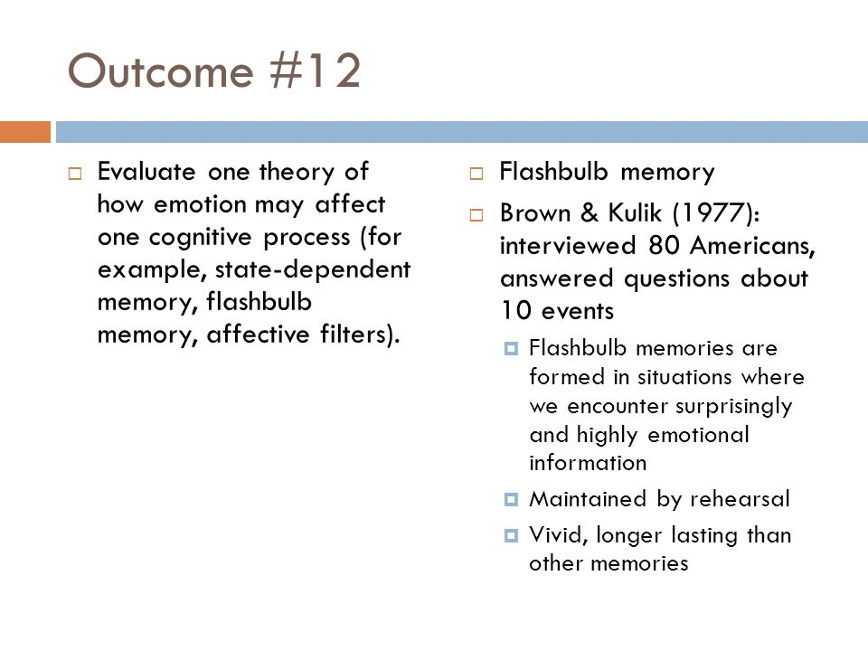 Cognitive Level Of Analysis Outcomes Review The Focus Key