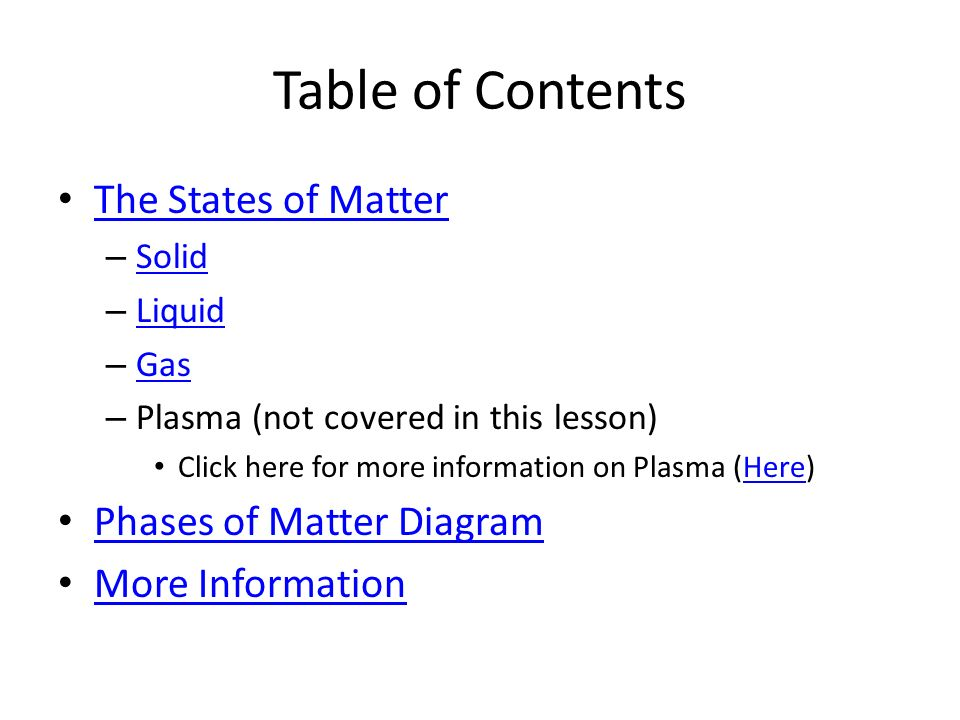 States Of Matter Physical Science Mrs Sharon Eran Smith Click On Me