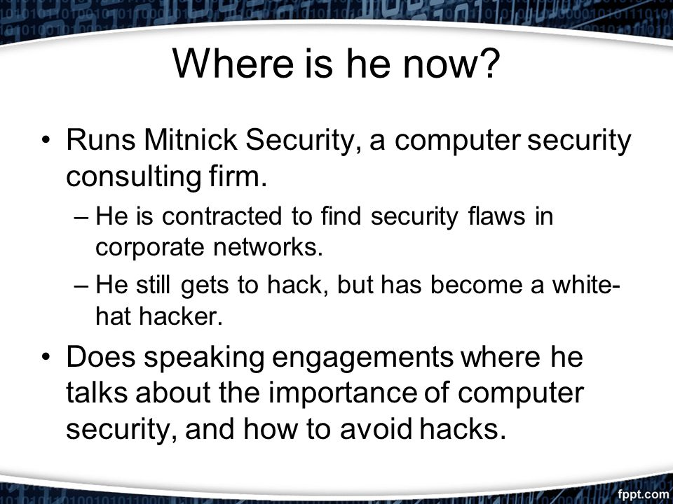 Ghost in the Wires Kevin Mitnick 2012 Heather Sliwoski CS ppt download