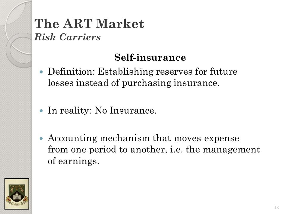 self insurance accounting