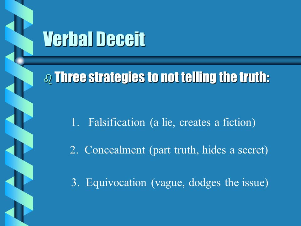 deception theory