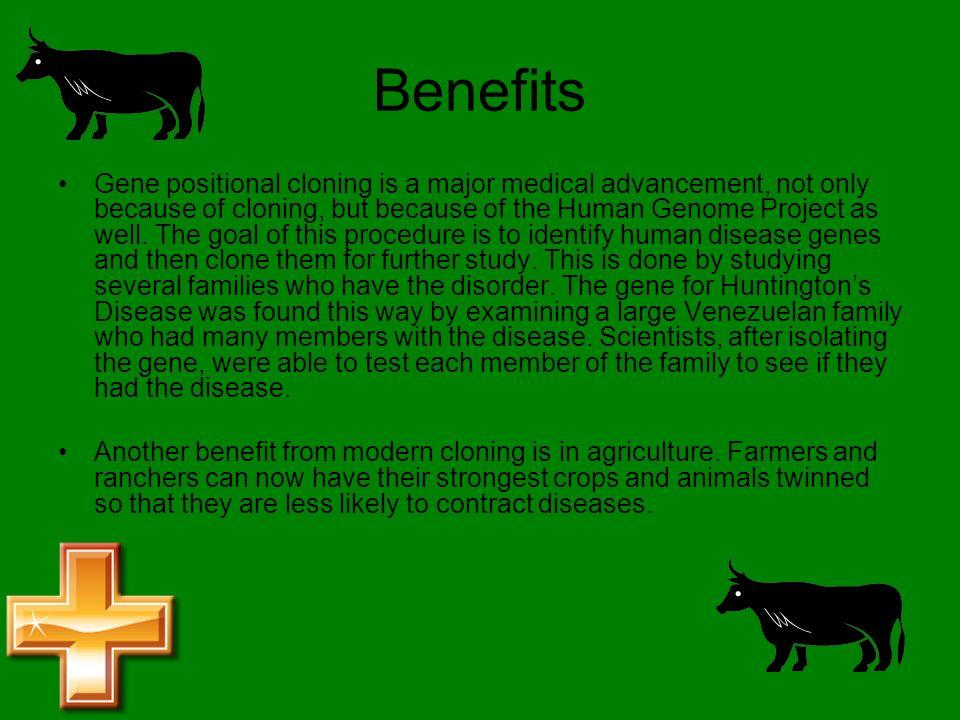 medical benefits of cloning
