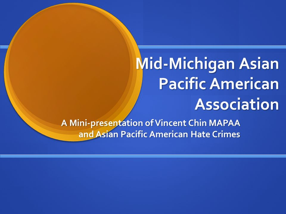 Are asian pacific american association